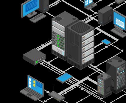 Монтаж структурированных кабельных сетей (СКС)